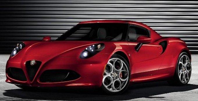 Alfa Romeo 4C Italian Style Price in United Kingdom