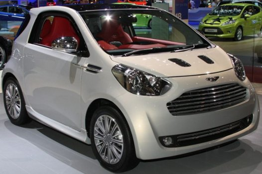 Aston Martin Cygnet City Price in China