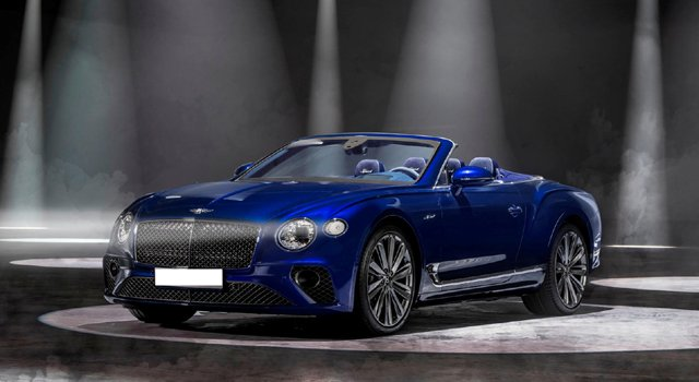 Bentley Continental GT Speed Convertible 2022 Price in Afghanistan
