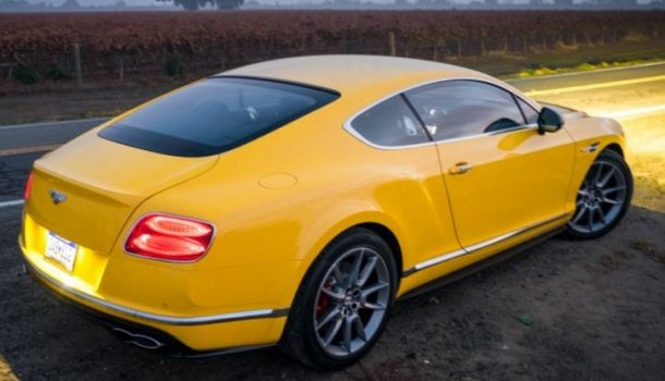 Bentley Continental GT V8 S Price in India