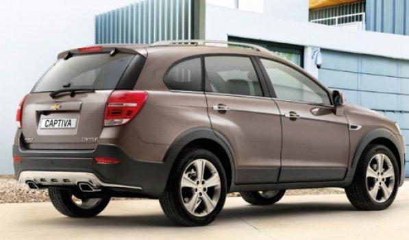 Chevrolet Captiva LT1 2.4 FWD  Price in Russia