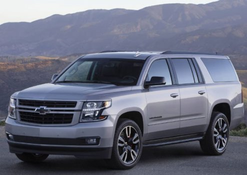 Chevrolet Suburban HD LT 4WD 2019 Price in Kenya
