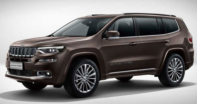 Chrysler Commander 2021 Price in China