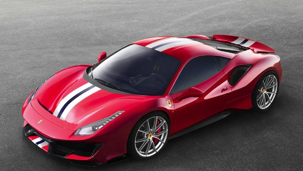 Ferrari 488 Pista 2020 Price in Hong Kong