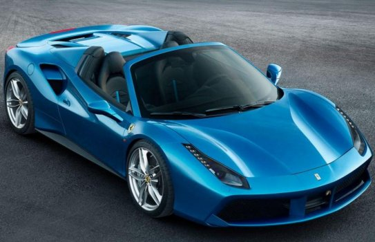 Ferrari 488 Spider Price in Hong Kong