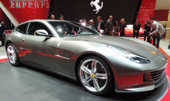 Ferrari GTC4 Lusso Price in Europe