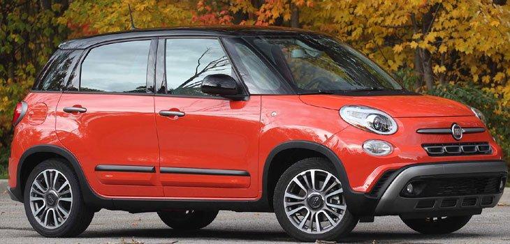 Fiat 500L Trekking Hatch 2019 Price in Vietnam