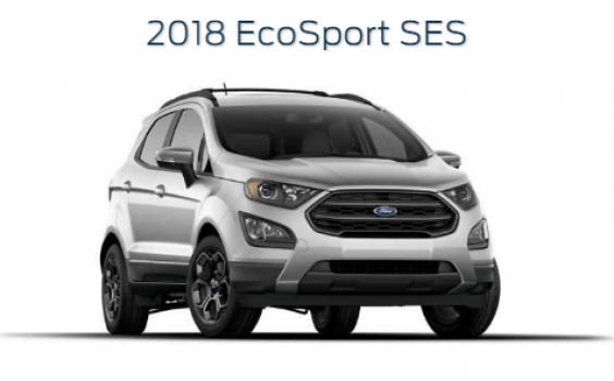 Ford EcoSport SES 2018 Price in Pakistan