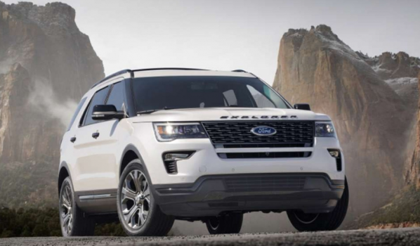 Ford Explorer 2.3L EcoBoost Limited 2019 Price in Dubai UAE