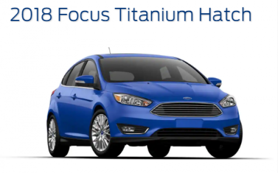 Ford Focus Titanium Hatchback 2018 Price in Pakistan