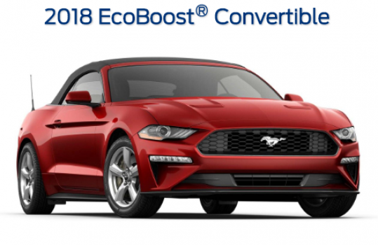 Ford Mustang EcoBoost Convertible 2018 Price in New Zealand