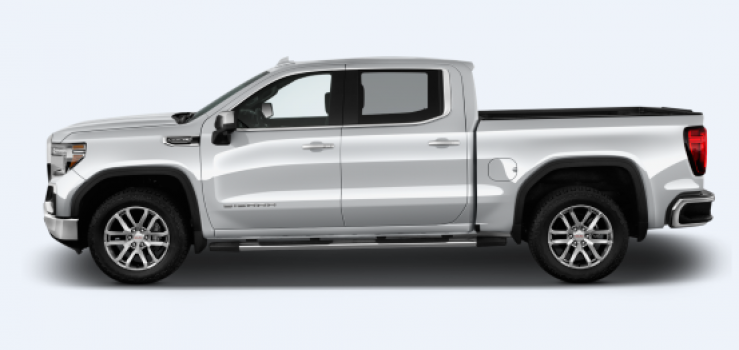 GMC Sierra 1500 SLE Crew Cab Short Bed 4WD 2019 Price in Russia