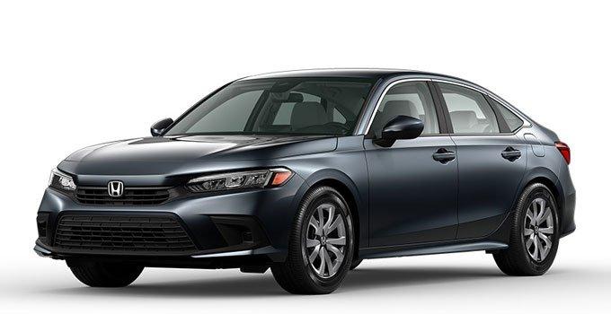 Honda Civic LX Sedan 2022 Price in Canada
