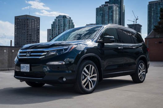 Honda Pilot Touring 4WD 2016  Price in China