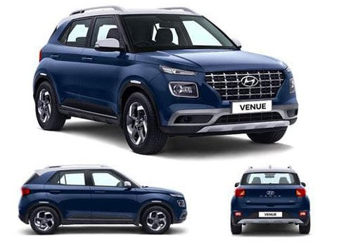 Hyundai Venue SX 1.0 Dual Tone Petrol 2019 Price in Japan