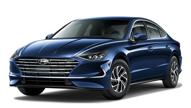 Hyundai Sonata Hybrid Blue 2021 Price in Japan