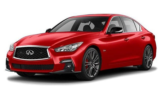 Infiniti Q50 Red Sport 400 AWD 2021 Price in Egypt