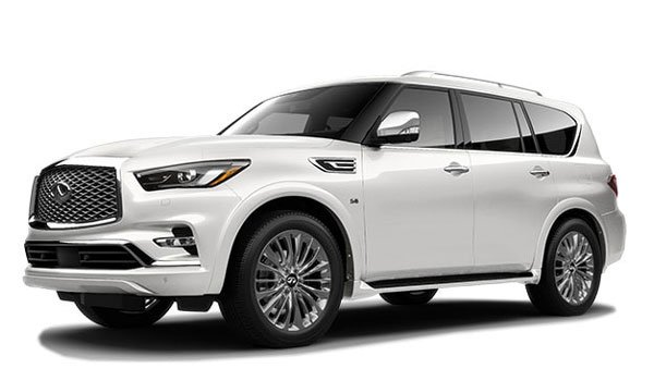 Infiniti QX80 LUXE AWD 2020 Price in Egypt