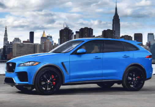 Jaguar F-Pace SVR 2019 Price in Europe