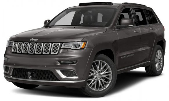 Jeep Grand Cherokee Summit 2019 Price in Canada