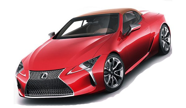 Lexus LC 500 Convertible 2021 Price in China