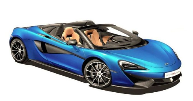 McLaren 570S Spider 2021 Price in Oman