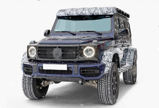 Mercedes Benz G550 4x4 Squared 2022 Price in Saudi Arabia