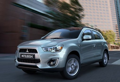 Mitsubishi ASX GLX 4WD 2017 Price in India