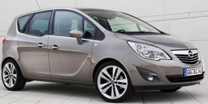 Opel Meriva 1.4L Price in Iran