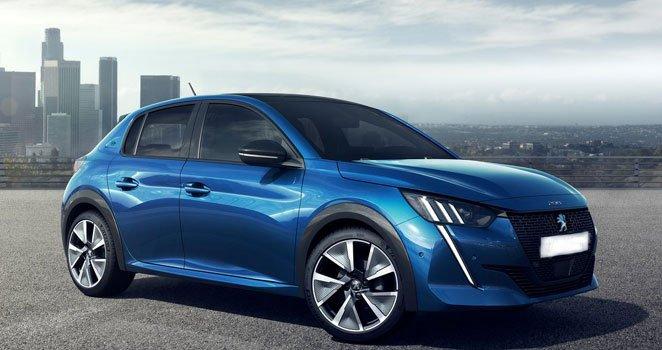 Peugeot e-208 2021 Price in Greece