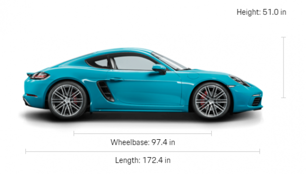 Porsche 718 Cayman S (Manual) Price in Canada