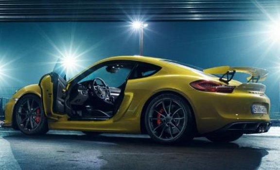 Porsche Cayman GT4 3.8 (M) Price in India