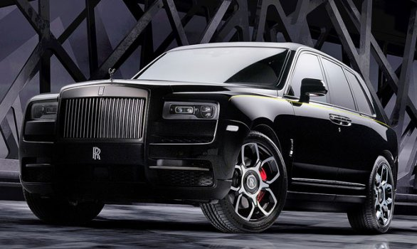 Rolls Royce Cullinan Black Badge 2020 Price in France