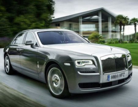 Rolls Royce Ghost Black Badge Price in Qatar