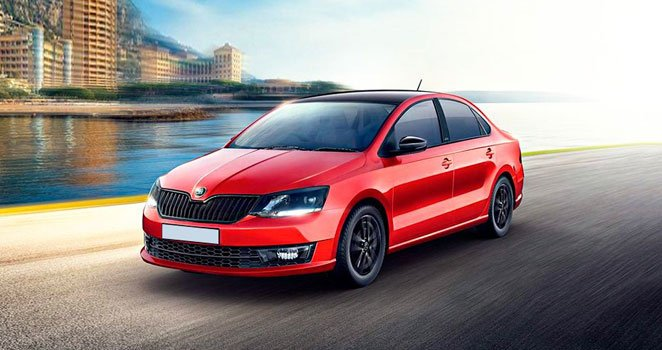 Skoda Rapid Monte Carlo 1.6 MPI 2019 Price in Germany