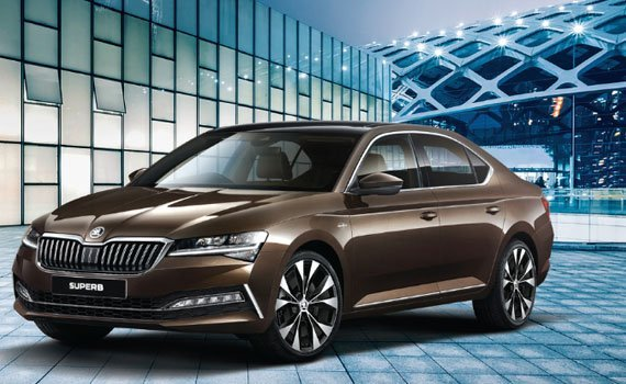 Skoda Superb Sportline AT 2020 Price in South Korea