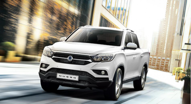 SsangYong Musso 2.2L 4x2 AT 2019 Price in Afghanistan