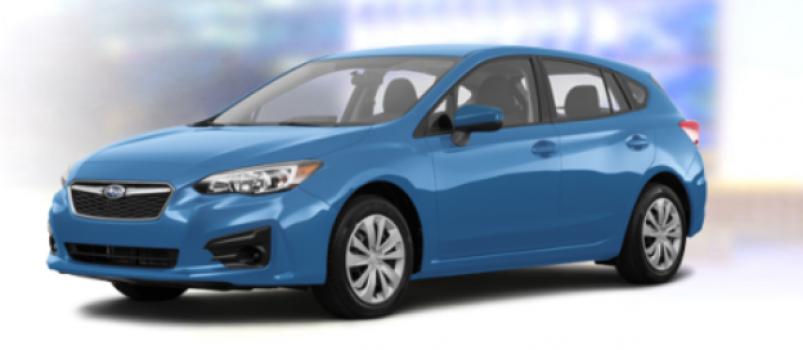 Subaru Impreza Convenience 5-door Auto 2019 Price in Ecuador