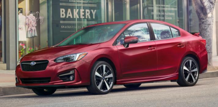 Subaru Impreza Touring 4-door Manual 2019 Price in Russia