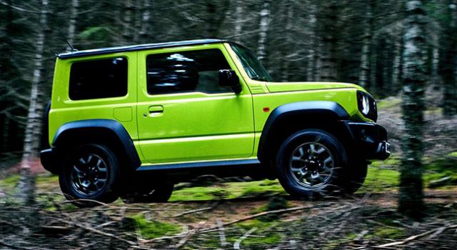 Suzuki Jimny GLX AT (Two-Tone) 2019  Price in Indonesia