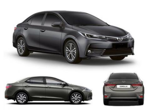 Toyota Corolla Live Sedan 2018 (Petrol) Price in Nigeria