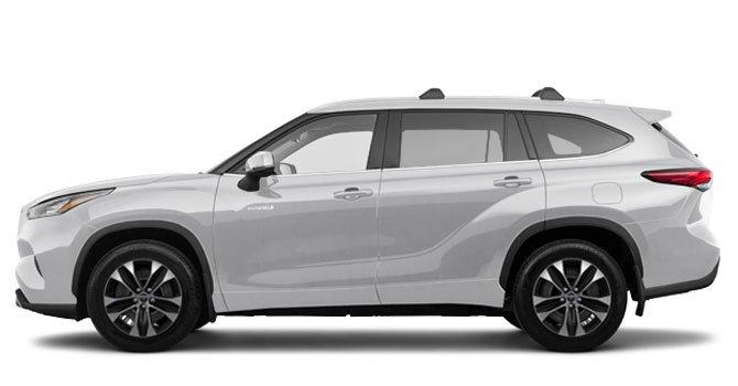 Toyota Highlander Hybrid XLE FWD 2020 Price in Australia