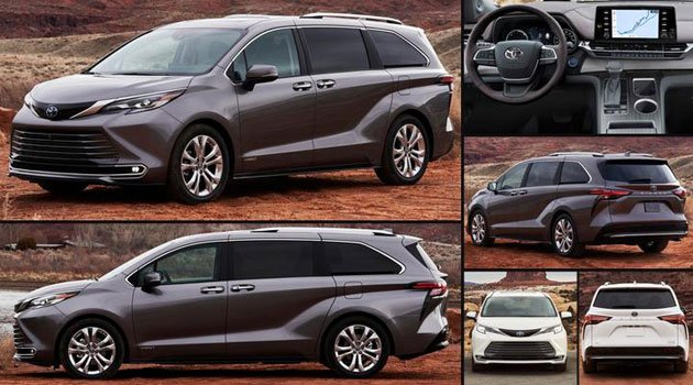 Toyota Sienna 2021 Price in USA