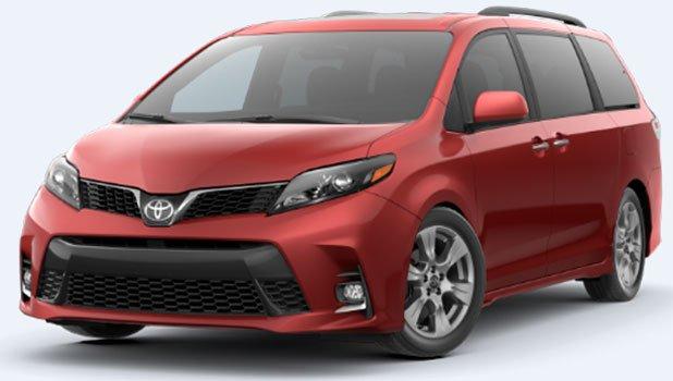 Toyota Sienna SE Premium AWD 7 Passenger 2020 Price in India