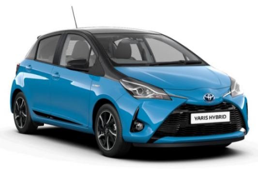 Toyota Yaris Hybrid Bi-tone Price in India