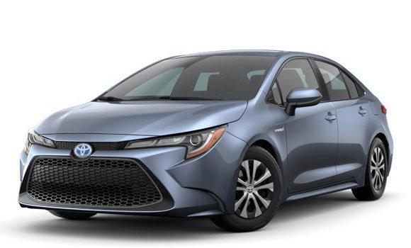 Toyota Corolla Hybrid LE 2022 Price in Japan