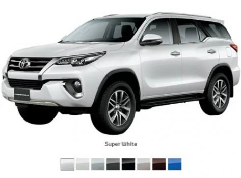 Toyota Fortuner 4.0 L EXR  Price in Indonesia