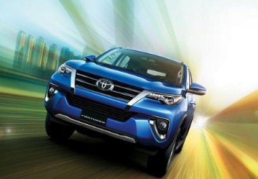 Toyota Fortuner VXR Price in Japan