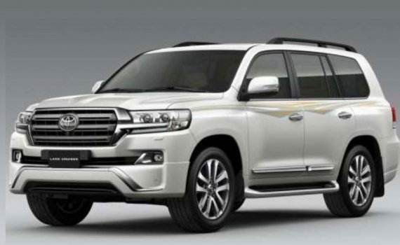 Toyota Land Cruiser 5.7L EXR Price in China