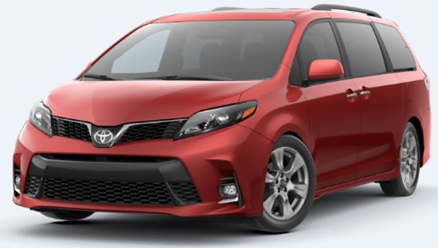 Toyota Sienna SE Premium FWD 8 Passenger 2020 Price in Russia